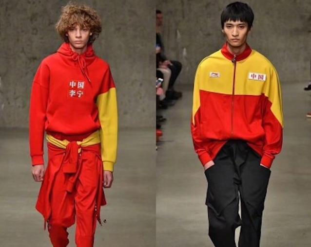 中国运动品牌李宁首秀纽约时装周