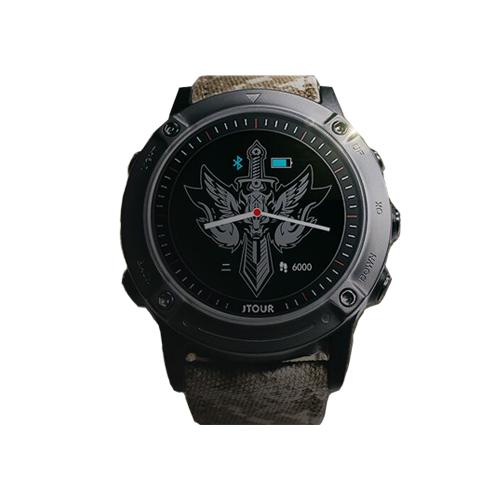 JTOUR/军拓 铁腕3S  战狼II联名纪念款军工户外智能腕