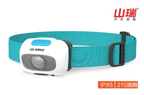 ISPO参展新品 GLAREE L60L轻量化头灯(USB款)