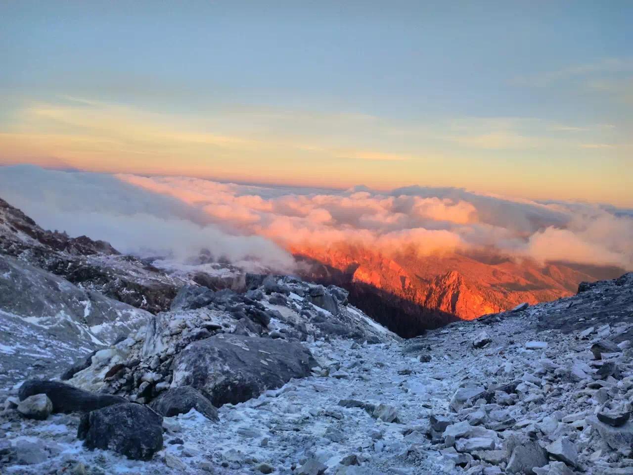 哈巴雪山登山(2016年上半年活动计划)