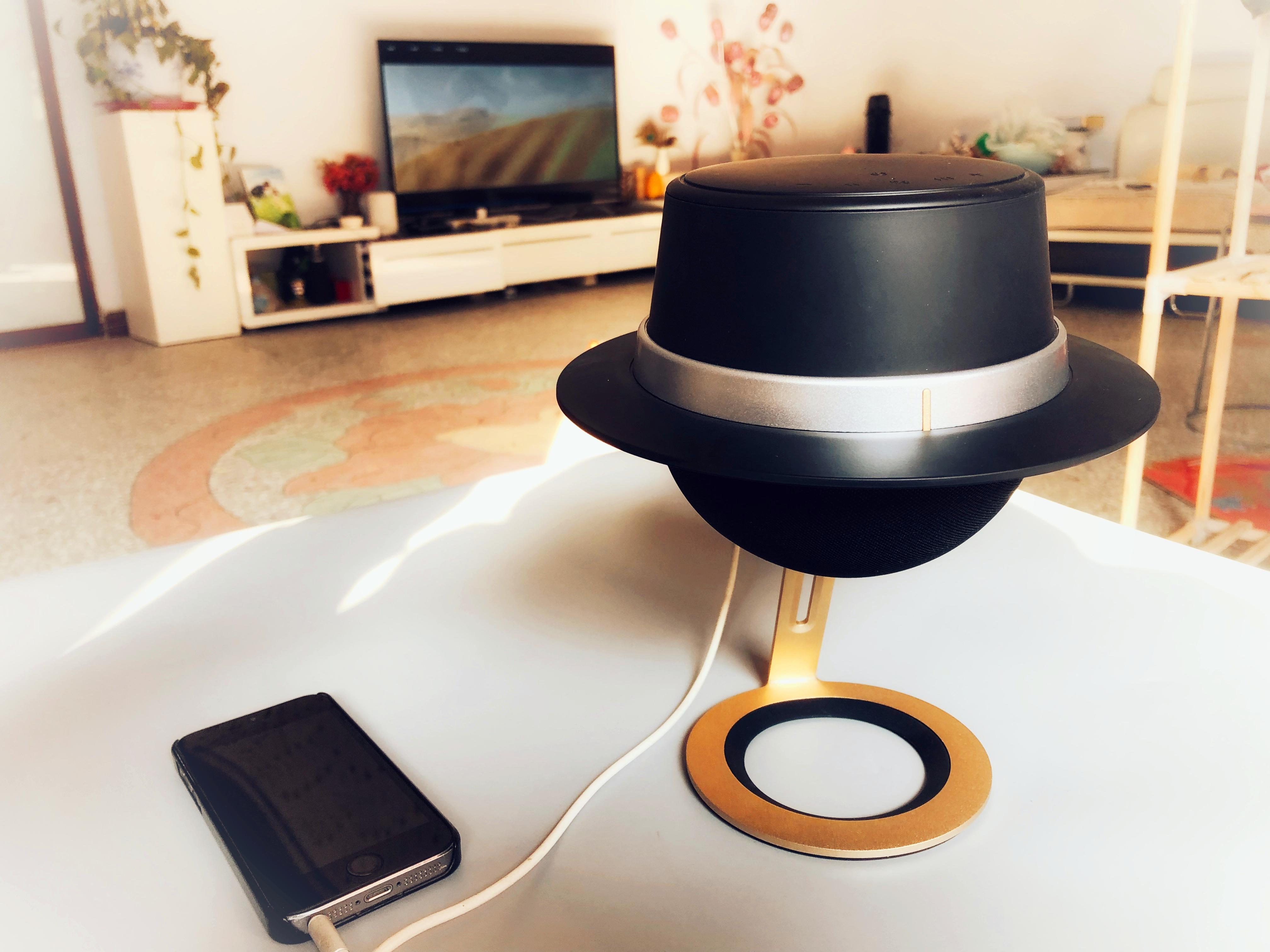 造型独特超有艺术感-音磅 Michael 桌面便捷蓝牙音箱体验