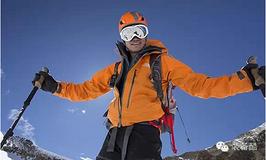 登山利器 鲁滨逊光影三节登山杖