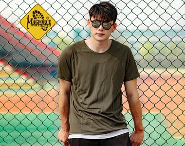 麦格霍斯magforce台湾马盖先2018新款速干两面穿T恤