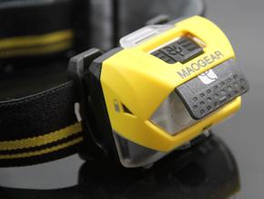 【免费测评】毛记NOX诺克斯 双电双光源户外头灯 美国进口R4灯珠